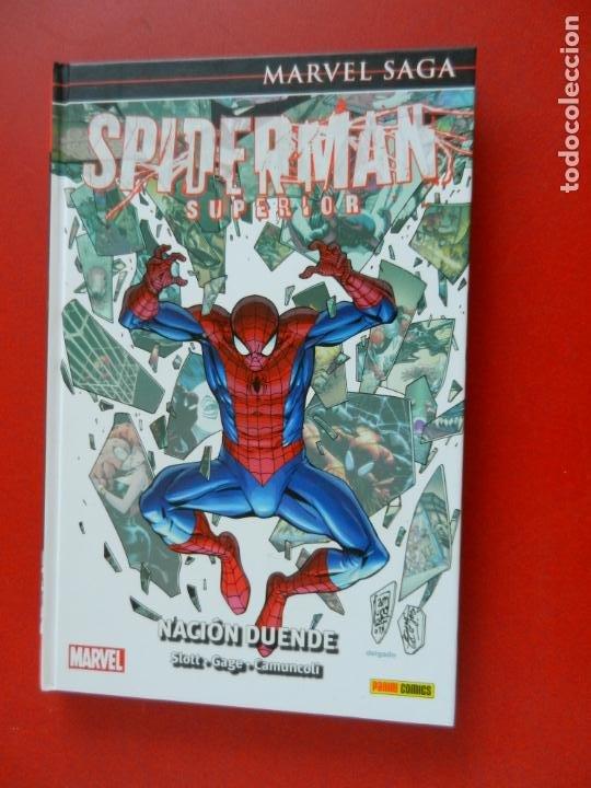 SPIDERMAN SUPERIOR - MARVEL SAGA Nº 44 - NACIÓN DUENDE - MARVEL 2020- NUEVO. (Tebeos y Comics - Panini - Marvel Comic)