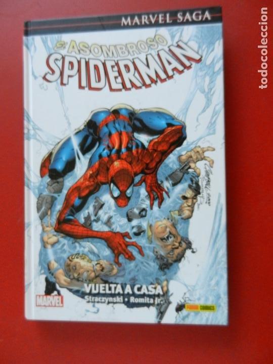 EL ASOMBROSO SPIDERMAN - MARVEL SAGA Nº 1 - VUELTA A CASA - MARVEL 2016- NUEVO. (Tebeos y Comics - Panini - Marvel Comic)