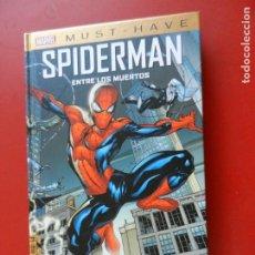 Cómics: SPIDERMAN ENTRE LOS MUERTOS - MARVEL MUST HAVE - 2021 - NUEVO.. Lote 275559133