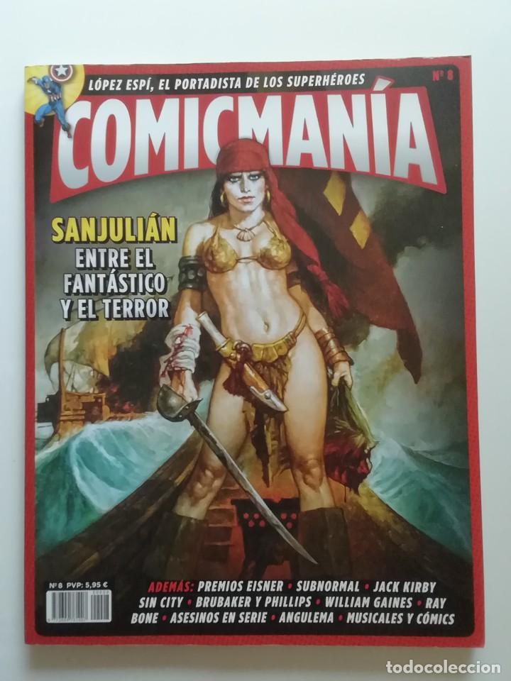 CÓMIC MANÍA, NÚMERO 8. PANINI REVISTAS. NUEVO. (Tebeos y Comics - Panini - Otros)