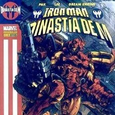 Cómics: IRON MAN DINASTIA DE M - PANINI - MUY BUEN ESTADO - SUB02F. Lote 276617523