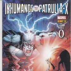Cómics: INHUMANOS VS PATRULLA X - Nº 0 - PANINI #. Lote 276807498