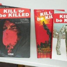 Cómics: KILL OR BE KILLED ¡ COMPLETA 4 TOMOS ! ED BRUBAKER - SEAN PHILLIPS / EVOLUTION COMICS. Lote 277129563