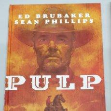 Cómics: PULP / ED BRUBAKER - SEAN PHILLIPS / EVOLUTION COMICS. Lote 277129808