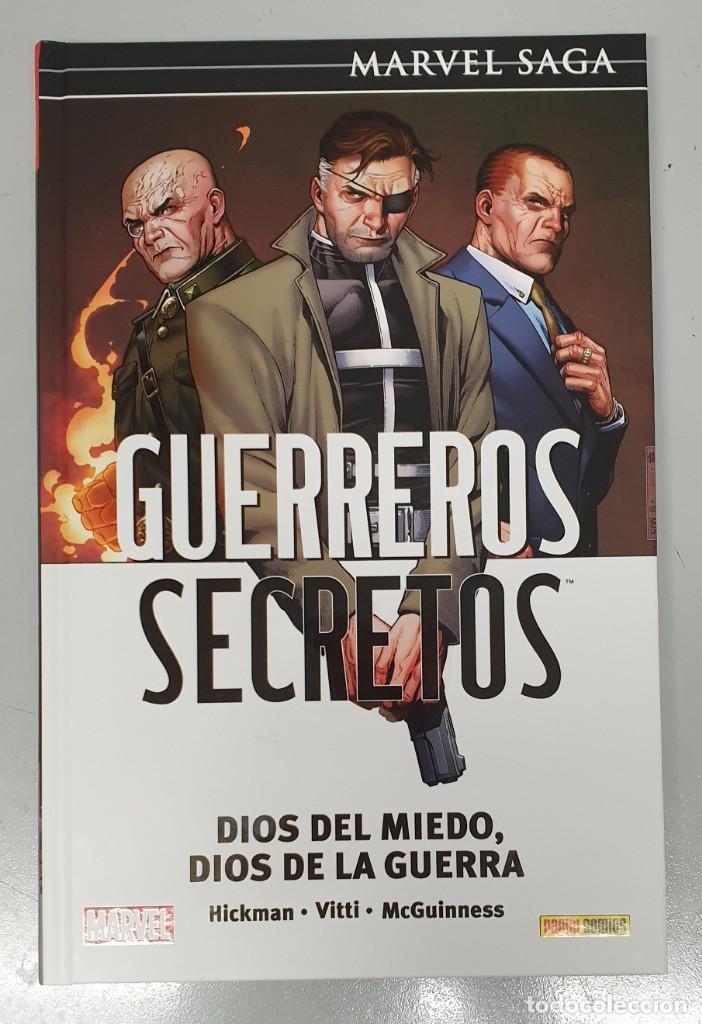 GUERREROS SECRETOS Nº 2 : DIOS DEL MIEDO , DIOS DE LA GUERRA - MARVEL SAGA / BENDIS - HICKMAN/PANINI (Tebeos y Comics - Panini - Marvel Comic)