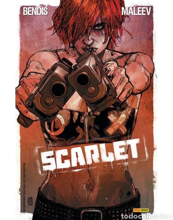 SCARLET (ALEX MALEEV, BRIAN MICHAEL BENDIS) (Tebeos y Comics - Panini - Otros)
