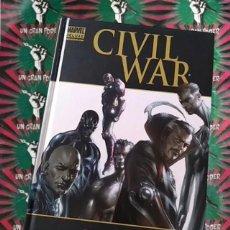 Cómics: CIVIL WAR PRELUDIO MARVEL DELUXE JOE MICHAEL STRACZYNSKI BRIAN MICHAEL BENDIS. Lote 277203743
