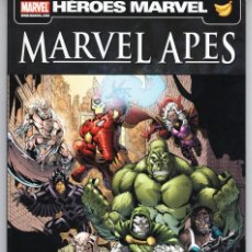 Cómics: HEROES MARVEL MARVEL APES EVOLUCION - PANINI - BUEN ESTADO. Lote 277223058