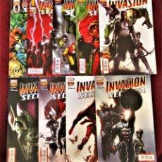Cómics: INVASIÓN SECRETA COMPLETA 8 NÚMEROS MAS EL 0 (9 EN TOTAL) PANINI DE TIENDA VER DESCRIPCIÓN Y FOTOS.. Lote 277287658
