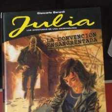 Cómics: JULIA: LA CONVERSACIÓN ENSANGRENTADA. Lote 277431873