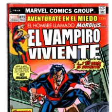 Cómics: MORBIUS EL VAMPIRO VIVIENTE - PANINI / MARVEL LIMITED EDITION OMNIBUS / TAPA DURA. Lote 277418848