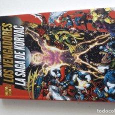 Cómics: MARVEL GOLD LOS VENGADORES LA SAGA DE KORVAC. Lote 277699193
