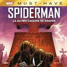 Cómics: MARVEL MUST-HAVE. SPIDERMAN: LA ULTIMA CACERIA DE. Lote 277703273