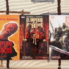 Cómics: EL IMPERIO DE LOS MUERTOS DE GEORGE A. ROMERO. COLECCIÓN COMPLETA EN TAPA DURA.. Lote 277722803
