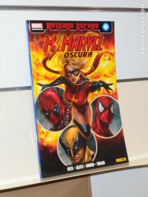 REINADO OSCURO MS. MARVEL OSCURA Nº 1 LA MUERTE DE MS. MARVEL - PANINI OFERTA (Tebeos y Comics - Panini - Marvel Comic)