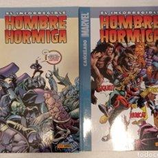 Cómics: EL INCORREGIBLE HOMBRE HORMIGA (ROBERT KIRKMAN) COMPLETA 2 TOMOS. Lote 278486023