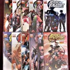 Comics: JÓVENES VENGADORES VOLUMEN 1 COMPLETA 12 NÚMEROS PANINI DE TIENDA VER DESCRIPCIÓN Y FOTOS. Lote 279426943