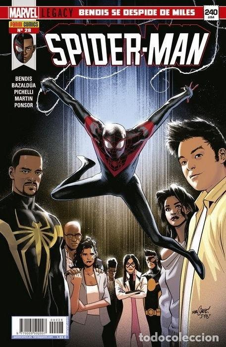 MILES MORALES SPIDER-MAN 28. PANINI. SPIDERMAN. (Tebeos y Comics - Panini - Marvel Comic)