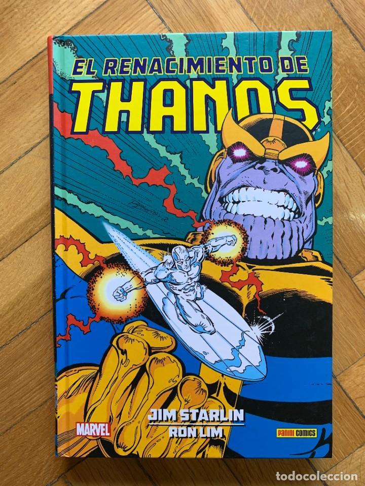 EL RENACIMIENTO DE THANOS - COLECCIÓN JIM STARLIN (Tebeos y Comics - Panini - Marvel Comic)
