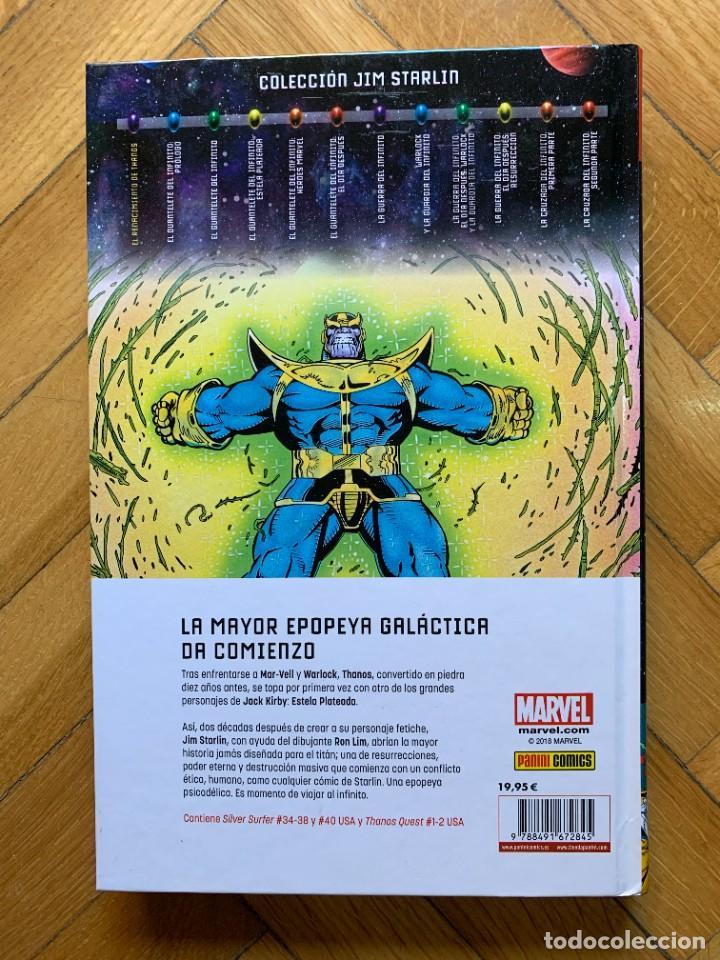 Cómics: El Renacimiento de Thanos - Colección Jim Starlin - Foto 3 - 279441523