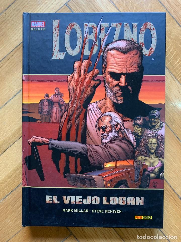 MARVEL DELUXE LOBEZNO: EL VIEJO LOGAN - MUY BUEN ESTADO (Tebeos y Comics - Panini - Marvel Comic)