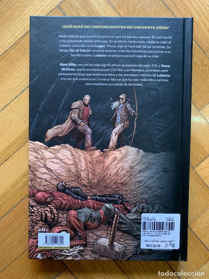 Cómics: Marvel Deluxe Lobezno: El Viejo Logan - Muy Buen Estado - Foto 5 - 279442593