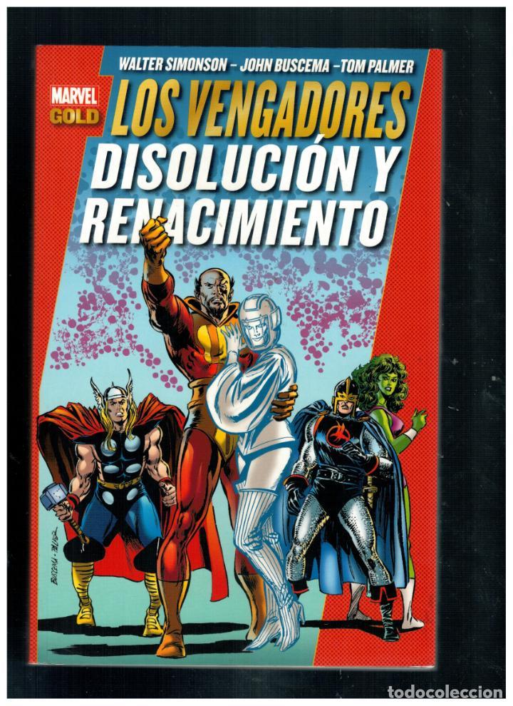 LOS VENGADORES - DISOLUCIÓN Y RENACIMIENTO - MARVEL GOLD. PANINI. NUEVO. (Tebeos y Comics - Panini - Marvel Comic)
