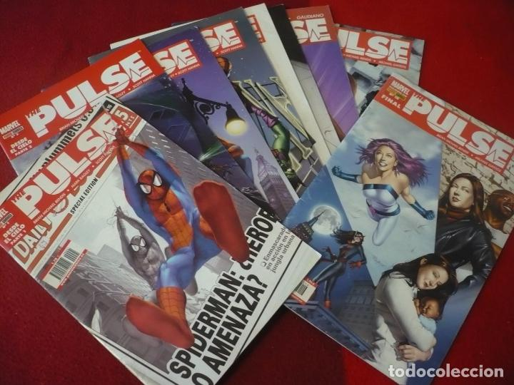 THE PULSE NºS 1, 2, 3, 5, 8, 9, 12, 14 Y 16 ( BENDIS BAGLE LARK ) MARVEL PANINI (Tebeos y Comics - Panini - Marvel Comic)