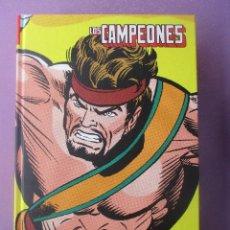 Cómics: LOS CAMPEONES MARVEL LIMITED EDITION PANINI ¡¡¡IMPECABLE ESTADO!!!!. Lote 281804213