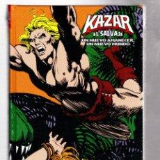 Cómics: KA-ZAR EL SALVAJE : UN NUEVO AMANECER, UN NUEVO MUNDO - PANINI / MARVEL LIMITED EDITION / TAPA DURA. Lote 282935803