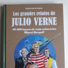 Cómics: LOS GRANDES RELATOS DE JULIO VERNE. TOMO 2. CARTONE. ¡ NUEVO!. Lote 283220548