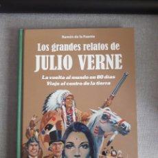 Cómics: LOS GRANDES RELATOS DE JULIO VERNE. TOMO 1. Lote 283280293