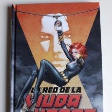 Cómics: LA RED DE LA VIUDA NEGRA. TOMO CARTONE. ¡ NUEVO!. Lote 283328393