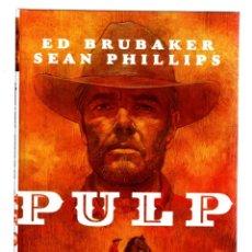 Cómics: PULP - PANINI / IMAGE / TAPA DURA / ED BRUBAKER & SEAN PHILLIPS. Lote 284245093