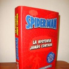 Cómics: SPIDER-MAN. LA HISTORIA JAMAS CONTADA - JULIAN M CLEMENTE - PANINI, EXCELENTE ESTADO. Lote 285093943