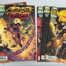 Comics: MOTORISTA FANTASMA ¡ COMPLETA 6 NUMEROS ! ED BRISSON / MARVEL - PANINI. Lote 285380383