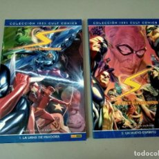 Cómics: PROJECT SUPERPOWER 1 Y 2, DE ALEX ROSS Y JIM KRUEGER (100 % CULT PANINI). Lote 286789253