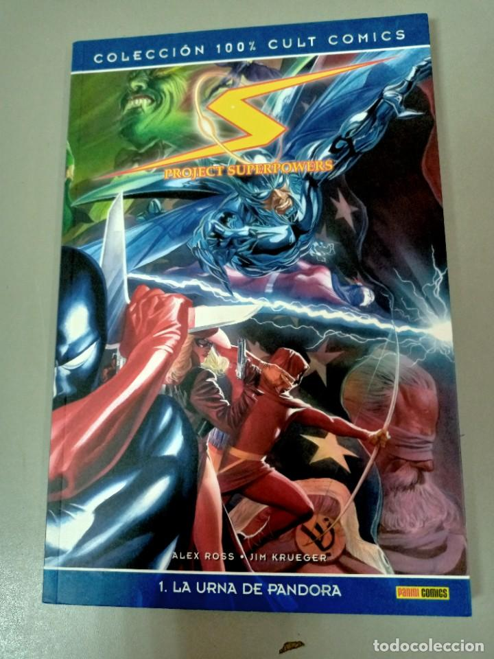 Cómics: PROJECT SUPERPOWER 1 Y 2, DE ALEX ROSS Y JIM KRUEGER (100 % CULT PANINI) - Foto 2 - 286789253
