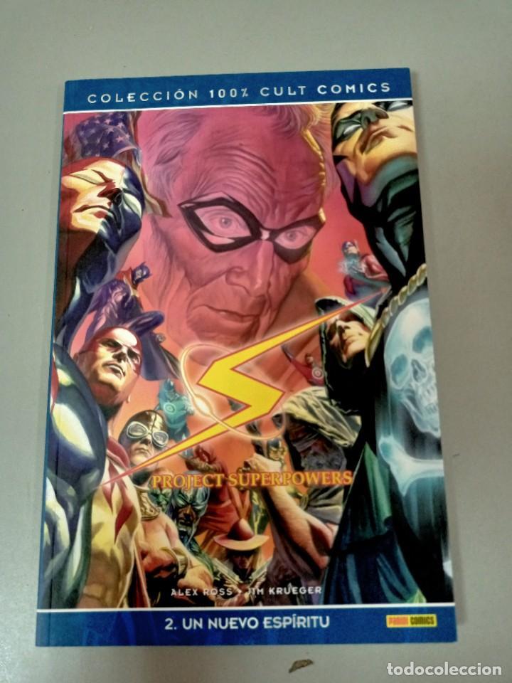 Cómics: PROJECT SUPERPOWER 1 Y 2, DE ALEX ROSS Y JIM KRUEGER (100 % CULT PANINI) - Foto 3 - 286789253
