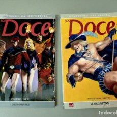 Cómics: X DOCE 1 Y 2, DE STRACZYNSKI Y WESTON (PANINI)(1 DESPERTARES. 2 SECRETOS). Lote 286789908