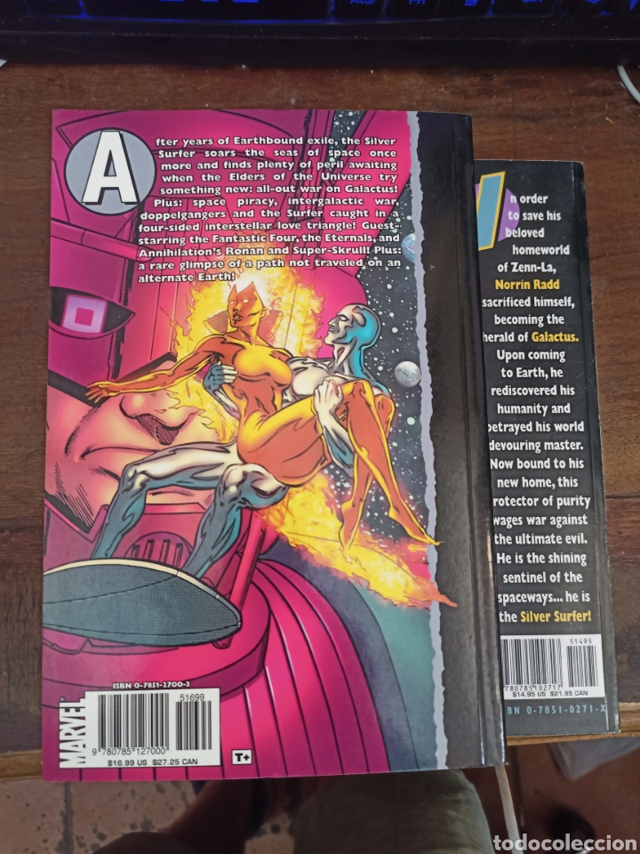 Cómics: SILVER SURFER. 2 VOL. Publicado por Marvel Comics, 2001. TEXTO EN INGLÉS - Foto 2 - 286806323