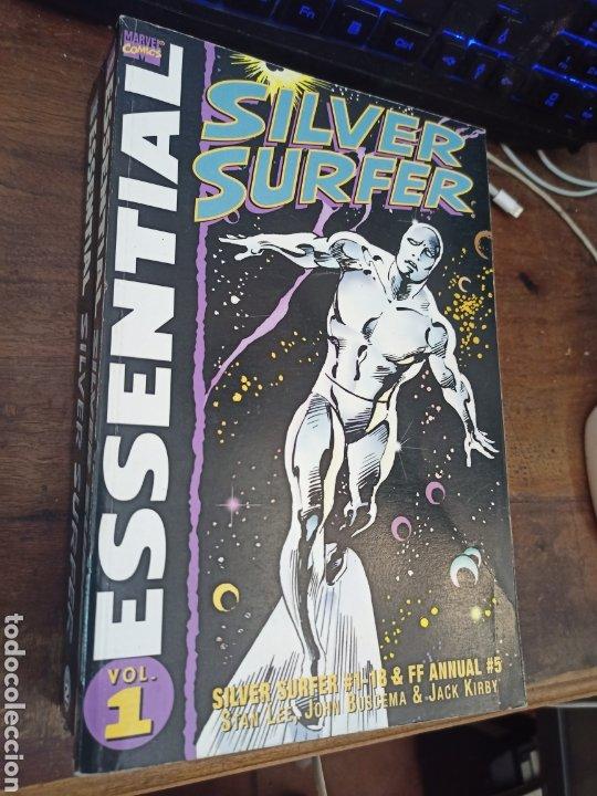 SILVER SURFER. 2 VOL. PUBLICADO POR MARVEL COMICS, 2001. TEXTO EN INGLÉS (Tebeos y Comics - Panini - Marvel Comic)