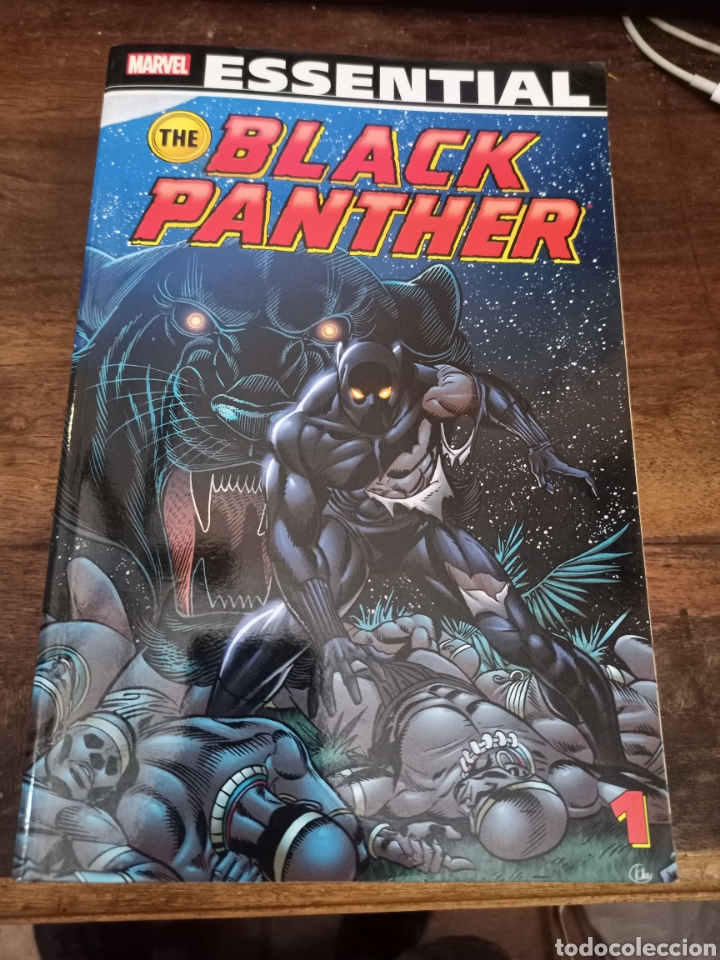BLACK PANTHER. VOL. 1. ESSENTIAL. MARVEL COMICS. NEW YORK, 2012 (Tebeos y Comics - Panini - Marvel Comic)