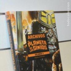 Cómics: ARCHIVOS EL PLANETA DE LOS SIMIOS VOLUMEN 4 PESADILLA EVOLUTIVA - PANINI OFERTA. Lote 287470643