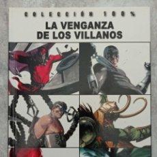 Cómics: 100% MARVEL. LA VENGANZA DE LOS VILLANOS. Lote 287681023