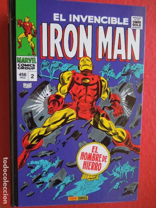 EL INVENCIBLE IRON MAN ,¡POR LA FUERZA DE LAS ARMAS! EL HOMBRE DE HIERRO - 456 PAG. VOL. 2 - MARVEL (Tebeos y Comics - Panini - Marvel Comic)
