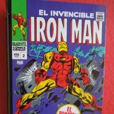 Cómics: EL INVENCIBLE IRON MAN ,¡POR LA FUERZA DE LAS ARMAS! EL HOMBRE DE HIERRO - 456 PAG. VOL. 2 - MARVEL. Lote 287831963