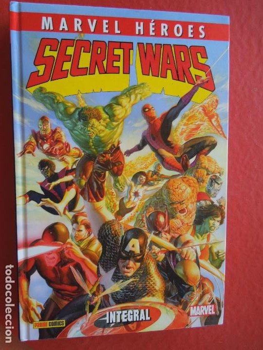 SECRET WARS INTEGRAL MARVEL HEROES - PANINI - LA EDICION DEFINITIVA - TAPA DURA 550 PAG (Tebeos y Comics - Panini - Marvel Comic)