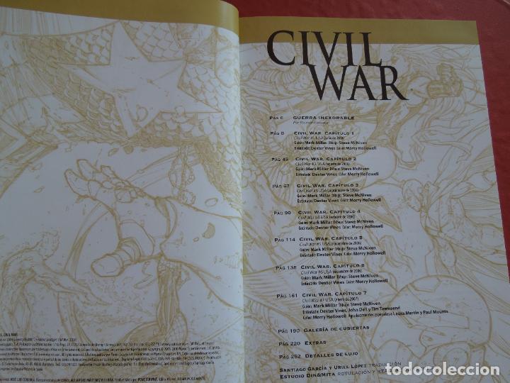 Cómics: CIVIL WAR - MILLAR -MCNIVEN - MARVEL DE LUXE PANINI COMIC - Foto 3 - 287836863