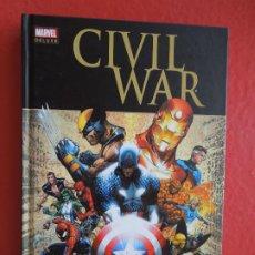 Cómics: CIVIL WAR - MILLAR -MCNIVEN - MARVEL DE LUXE PANINI COMIC. Lote 287836863